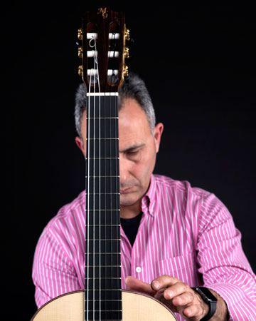Miguel Garrido luthier guitarras