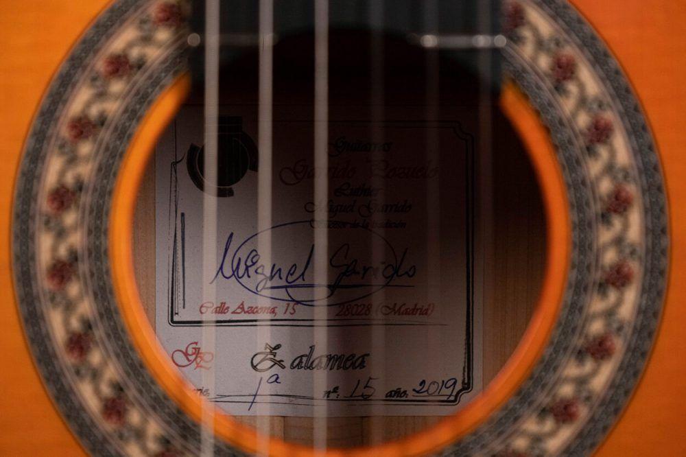 flamenco guitar model Zalamea-09