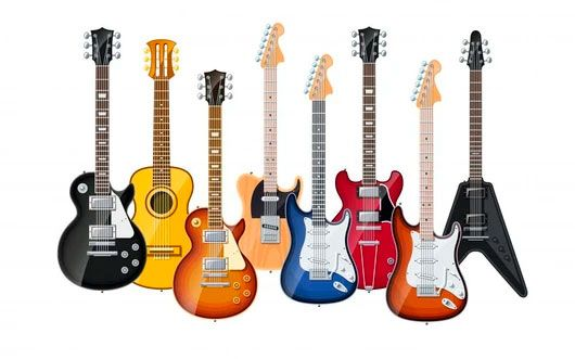 history of electric guitar