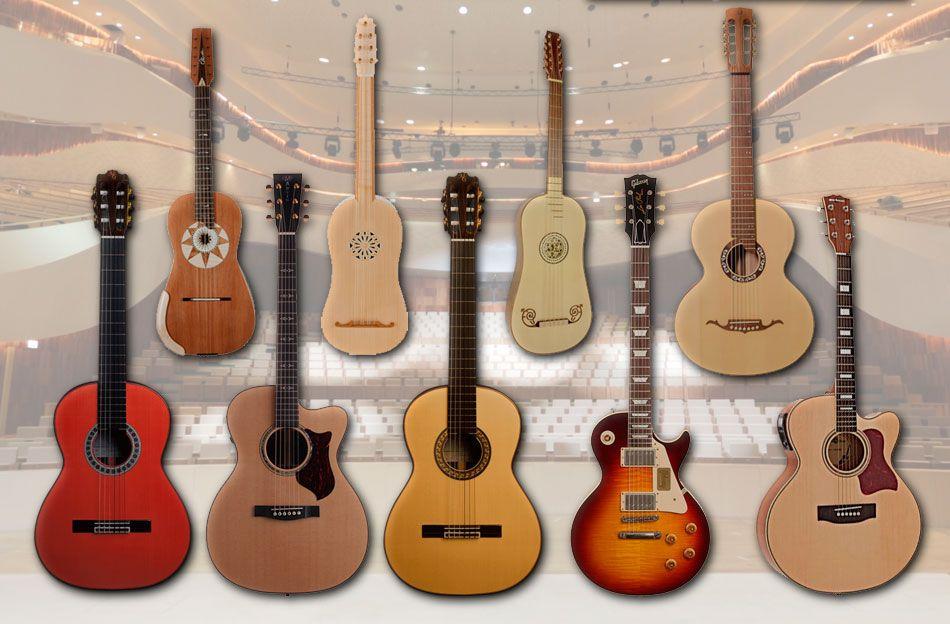 Tipos De Guitarra Caracteristicas Y Diferencias