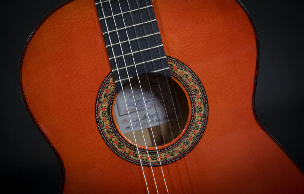 flamenco guitar black alegria (14)