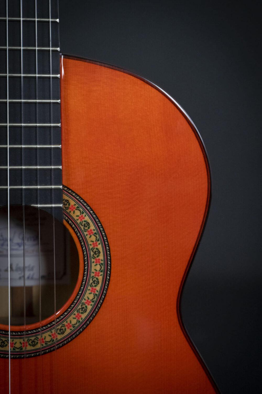 flamenco guitar black alegria (9)