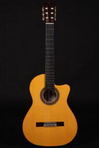 Cutaway guitar model Zambra