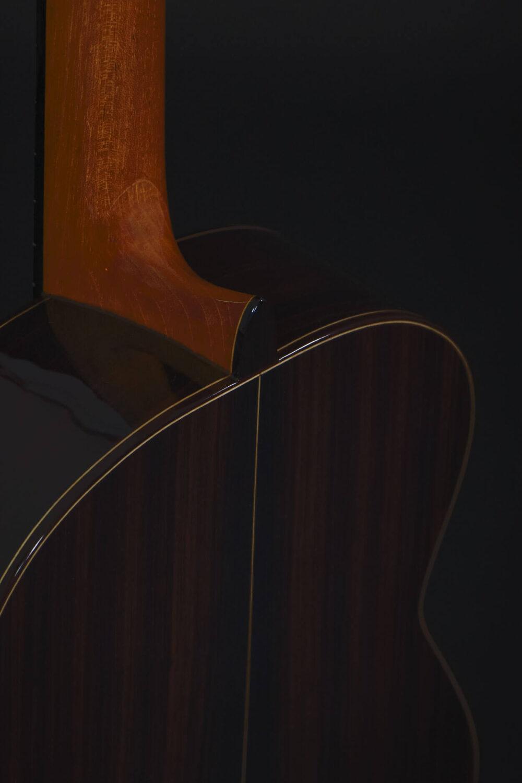 flamenco guitar black alegria (7)
